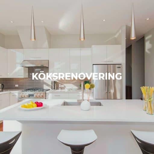 """Referensjobb """"Köksrenovering"""" utfört av AES Bygg & Riv AB"""