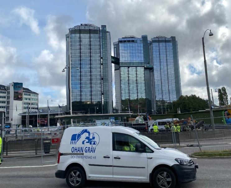 """Referensjobb """""""" utfört av Ohan Gräv och Entreprenad AB"""