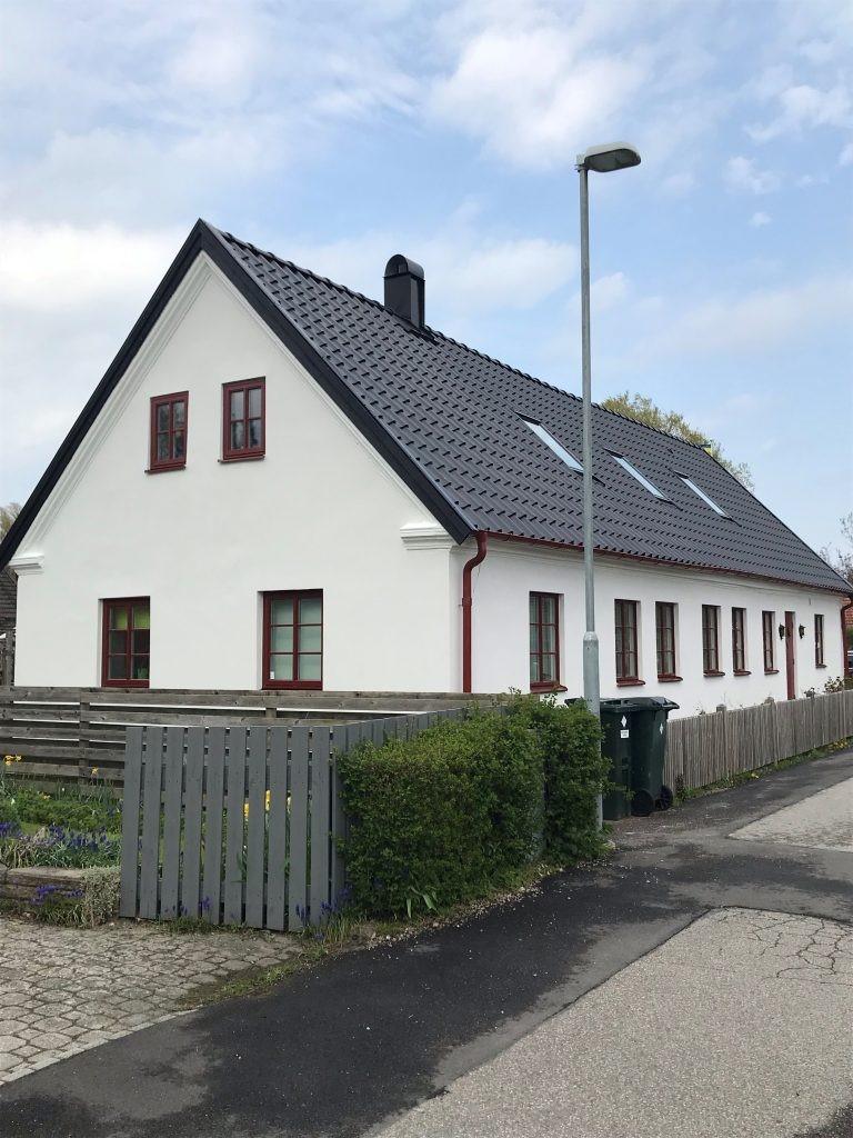 """Referensjobb """"Fasadrenovering, Putsning  och Takrenovering """" utfört av Baufirma i Skåne AB"""