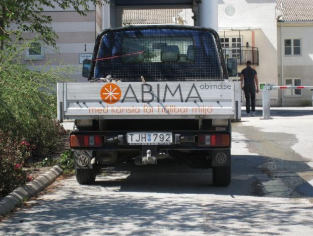 """Referensjobb """""""" utfört av ABIMA Gruppen AB"""