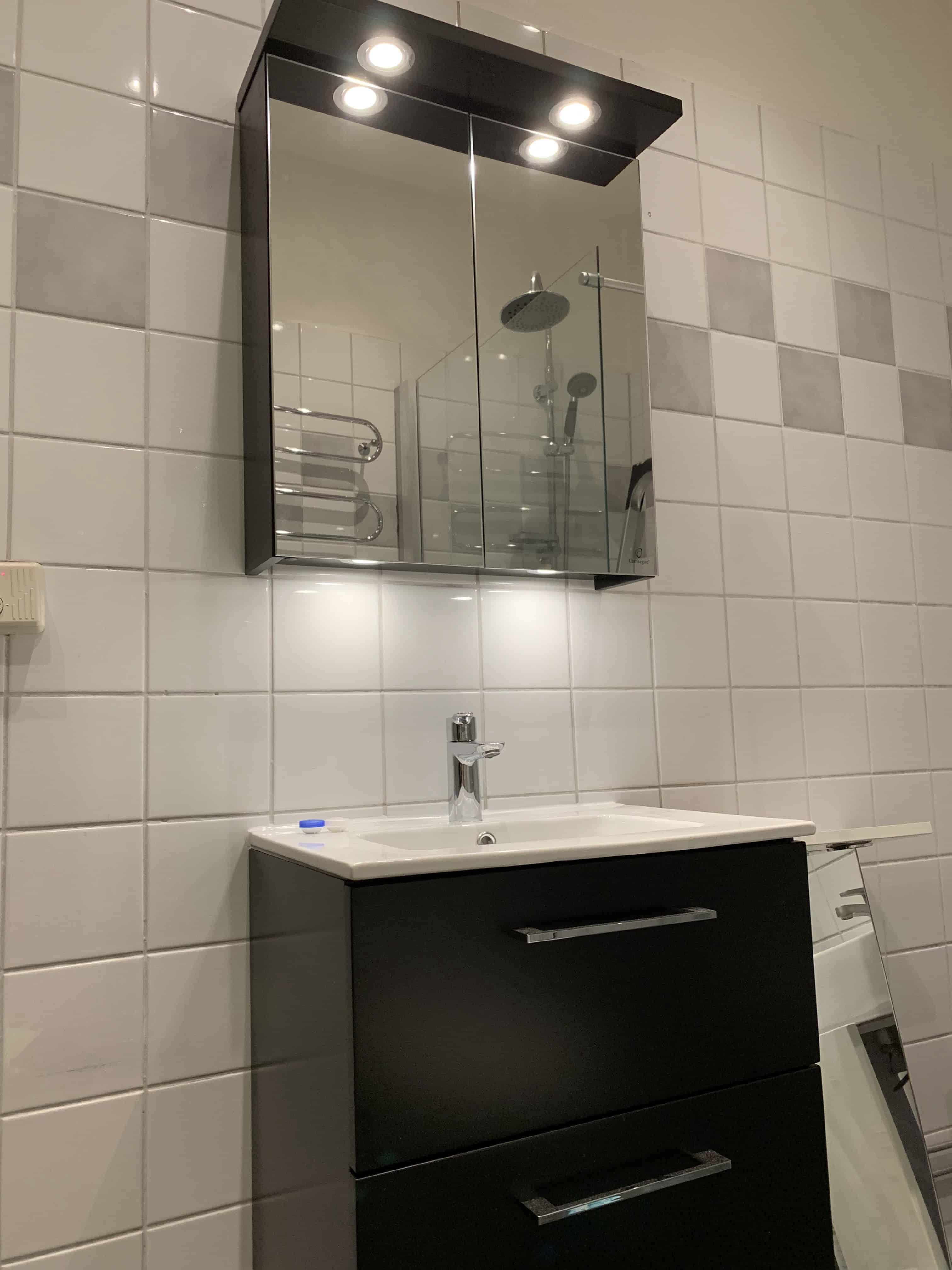 """Referensjobb """"Badrumsrenovering"""" utfört av Perfekt Renovering Stockholm"""