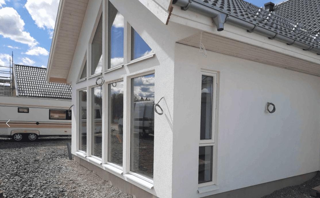 """Referensjobb """"Nyproduktion villa"""" utfört av Toom Bygg 2020 AB"""