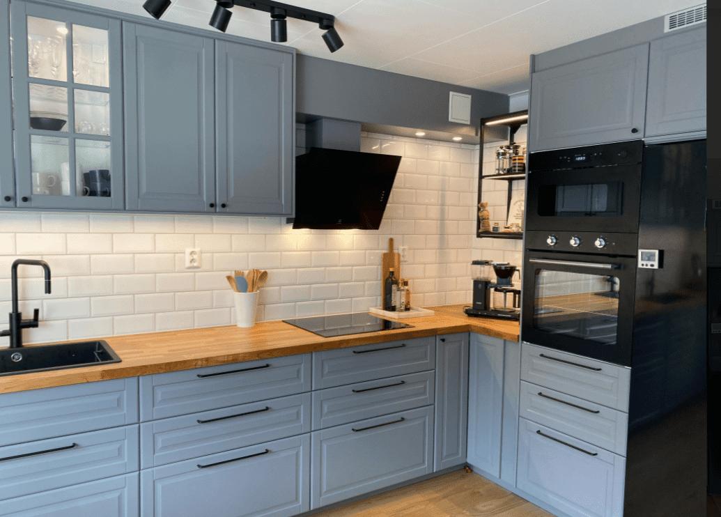 """Referensjobb """"Installation av nytt kök Gustavsberg."""" utfört av Jonara AB"""