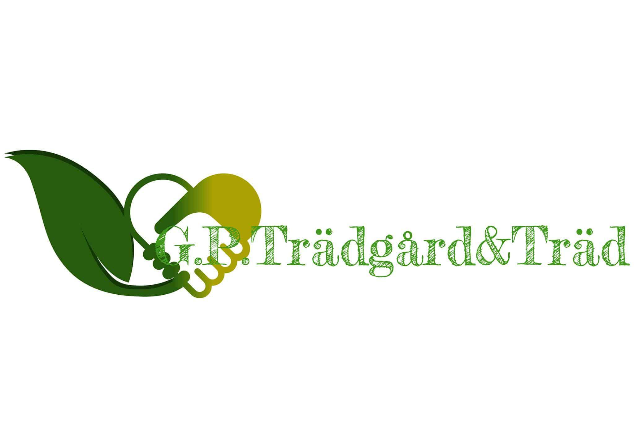 Logotyp för G.P.Trädgård&Träd