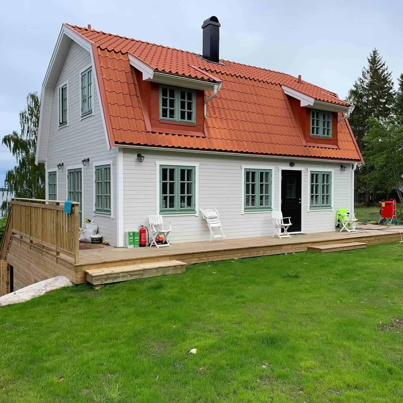 """Referensjobb """"Nybyggd/renoverad terrass"""" utfört av Yvonas bygg och städtjänster AB"""