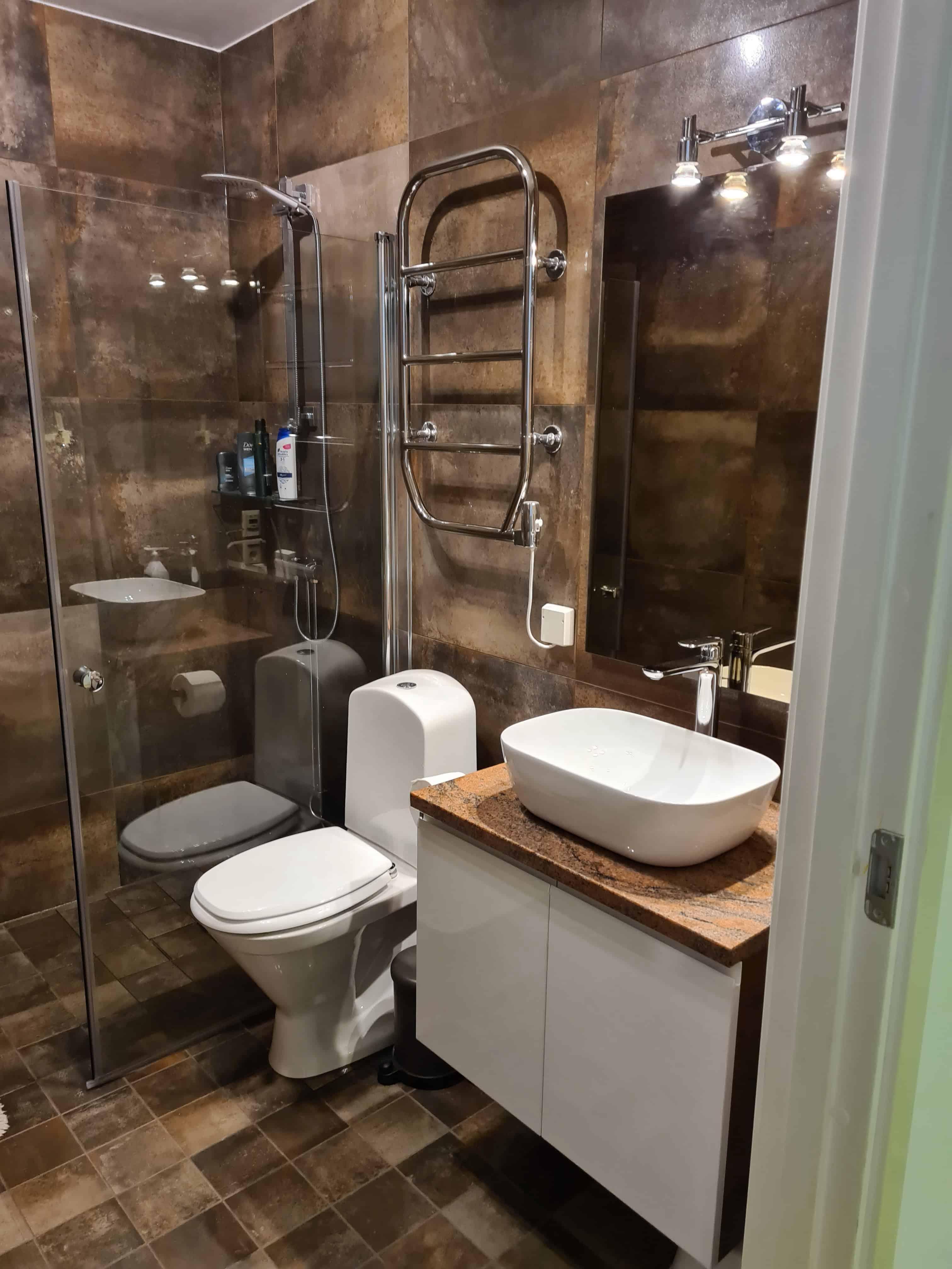 "Referensjobb ""Perfekt badrum"" utfört av BIA System Handelsbolag"