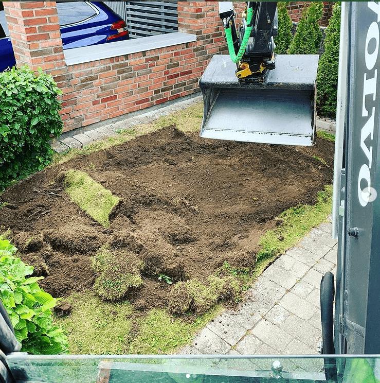 """Referensjobb """""""" utfört av Garden Design Välinge AB"""