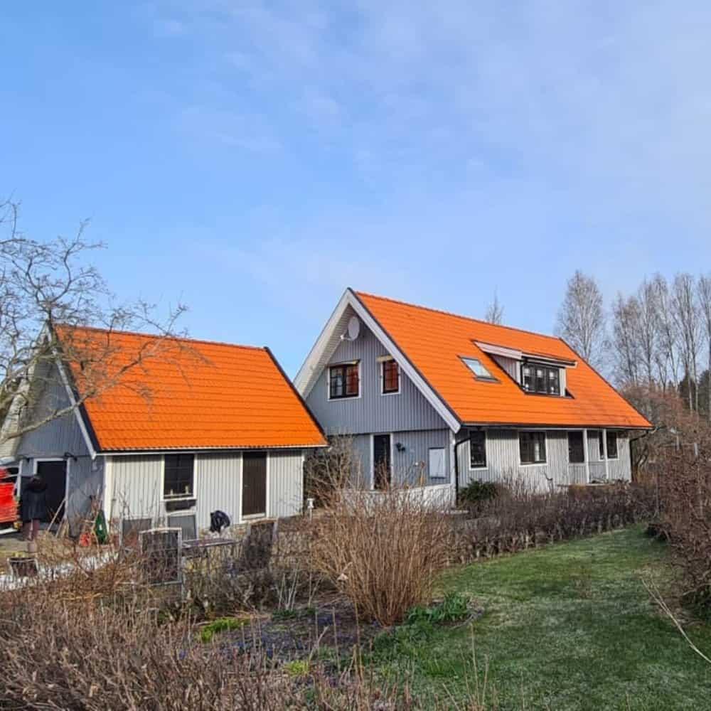 "Referensjobb ""Nytt tak"" utfört av M&R Takservice AB"