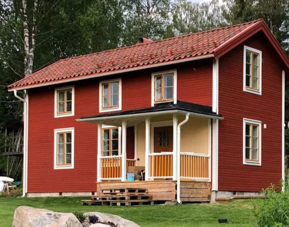 """Referensjobb """"Nytt hus i gammal stil"""" utfört av Lundberg Bygg & Konsult AB"""