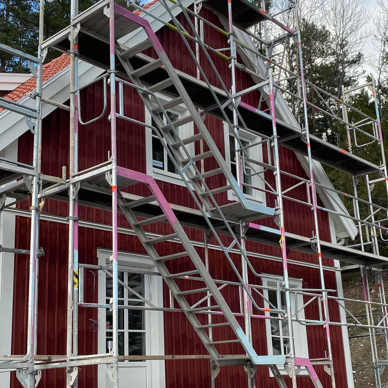 """Referensjobb """"Måla om huset."""" utfört av BENS MÅLERI AB"""