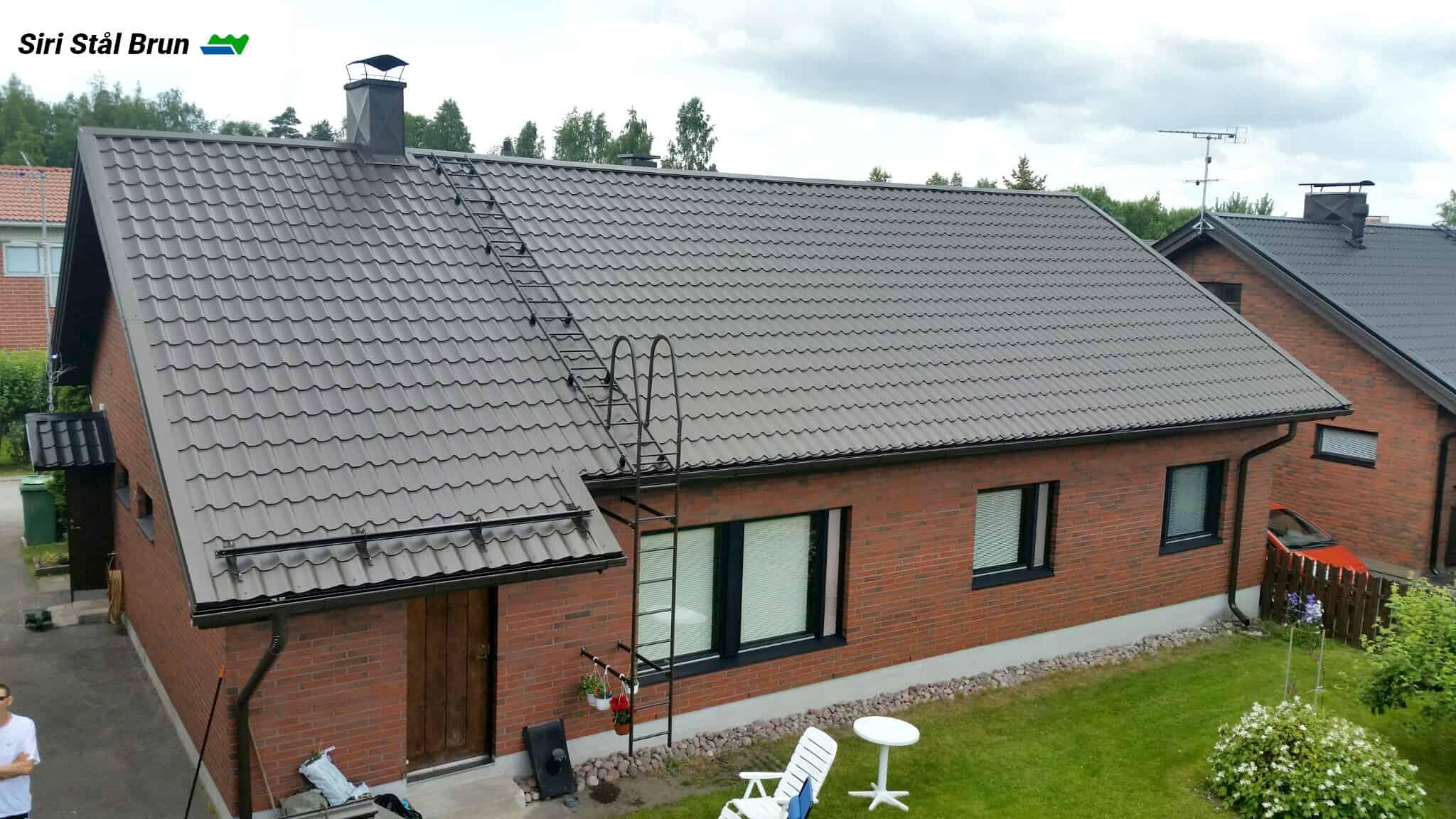 """Referensjobb """"Siri Stål Brun"""" utfört av Vesivek Sverige AB"""