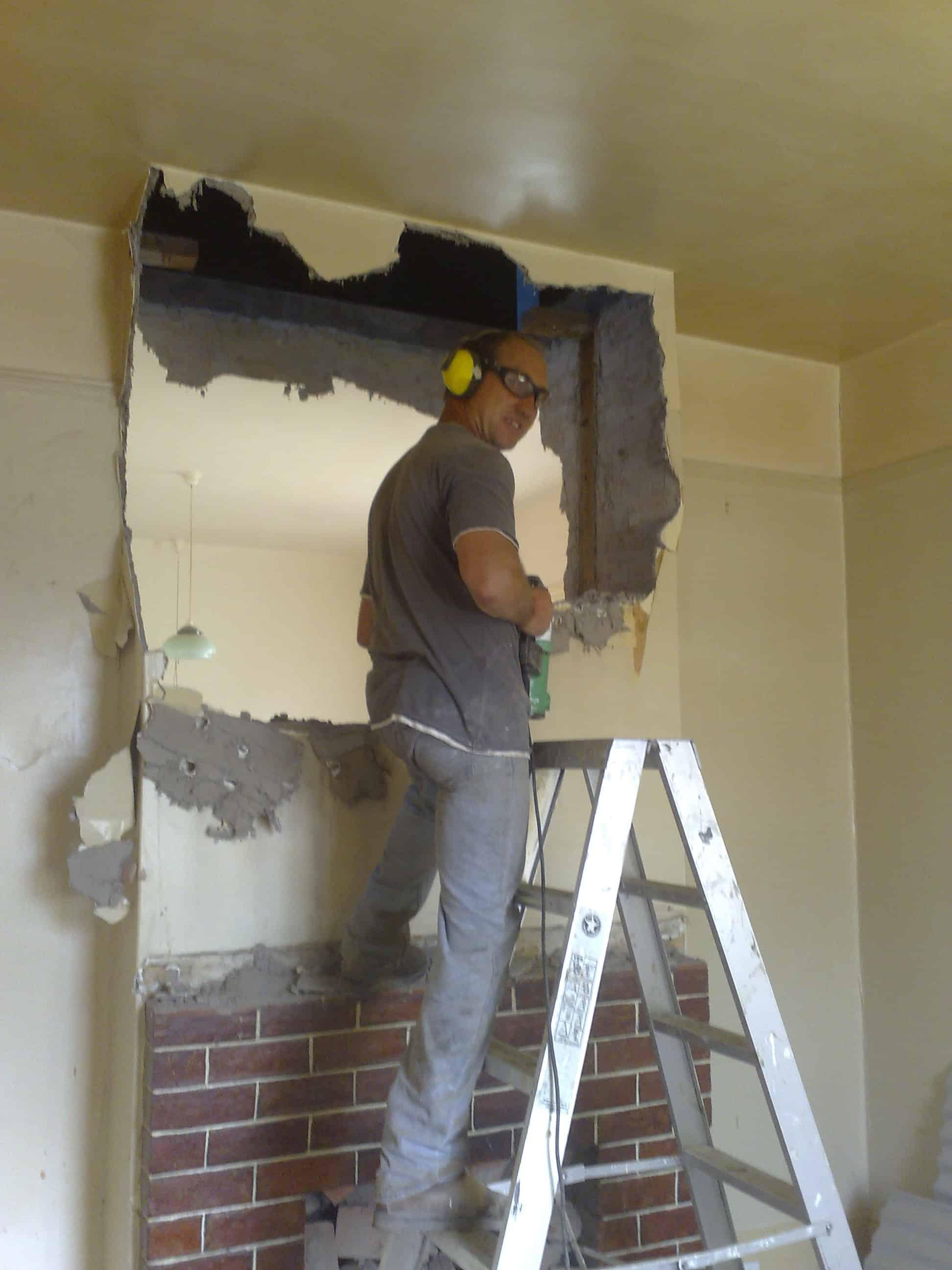 """Referensjobb """"Rivning av vägg"""" utfört av Stephen's Renovering"""