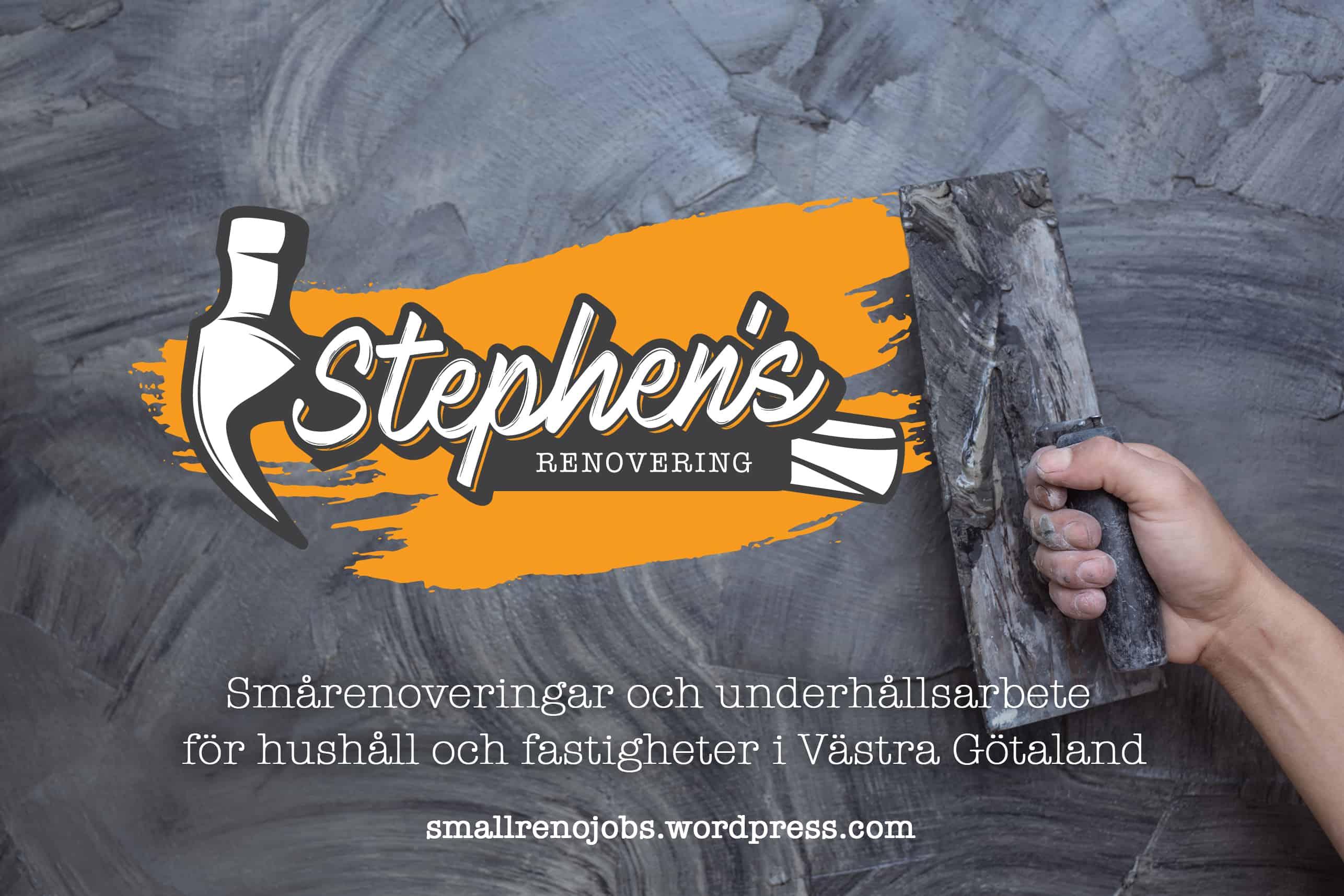 """Referensjobb """""""" utfört av Stephen's Renovering"""