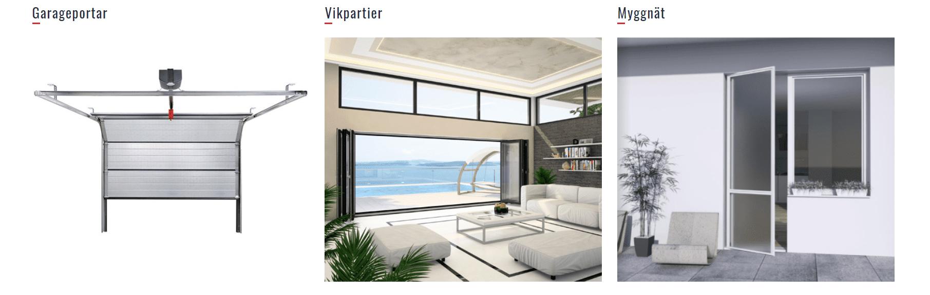 """Referensjobb """"Dina Fönster!"""" utfört av Lexxo Bygg & Markanläggning AB"""