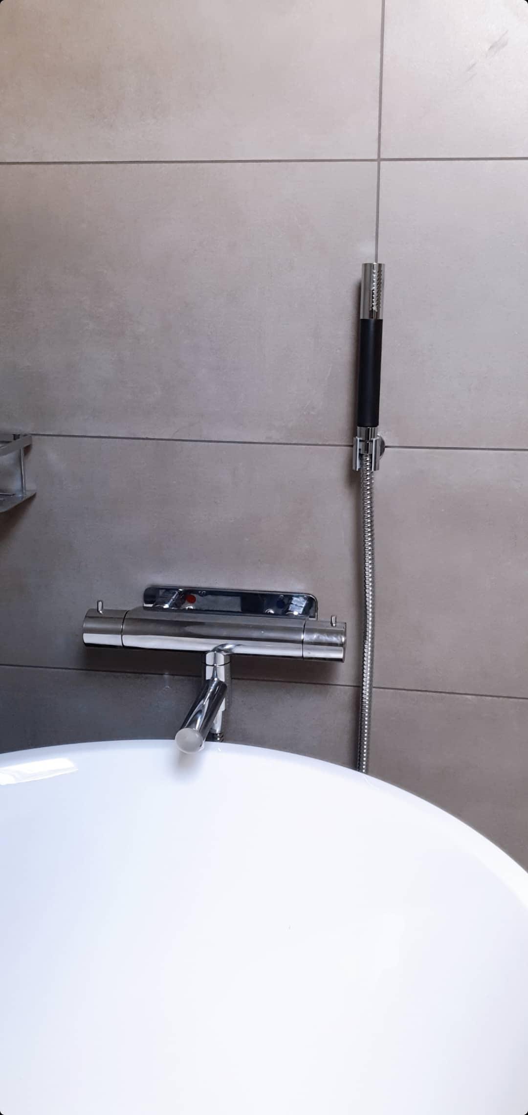 """Referensjobb """"Installation badkar"""" utfört av Rörjour Sydkusten"""
