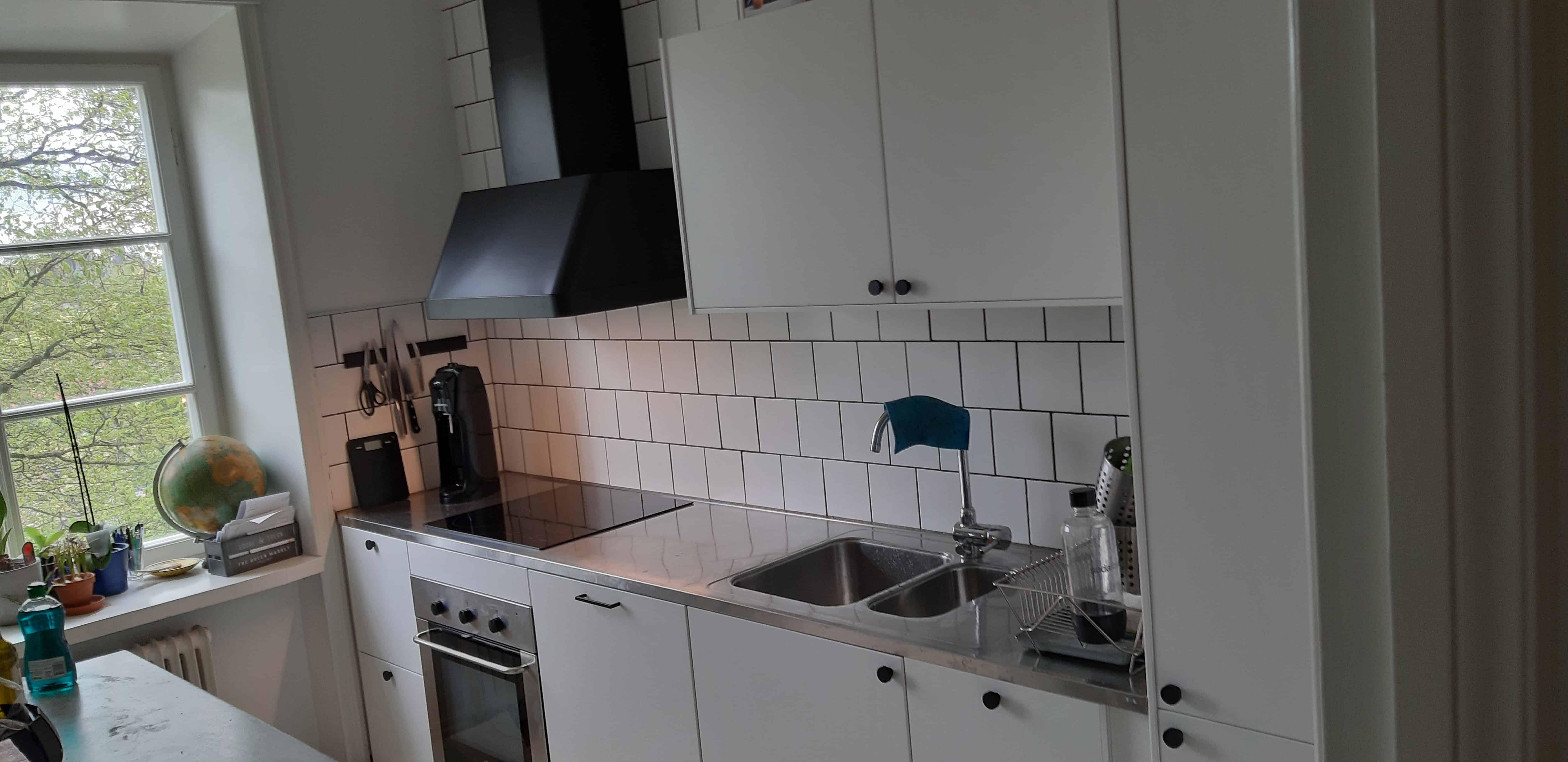 """Referensjobb """"Köksrenovering Hornstull"""" utfört av Firma: DRAKENBORN, SVEN"""