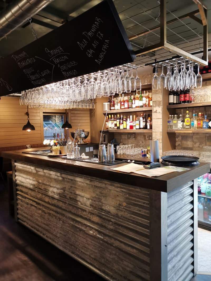 """Referensjobb """"Nybyggd bar."""" utfört av Binex Bygg"""
