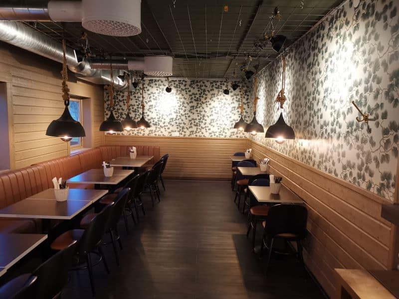"Referensjobb ""Nybyggd restaurangdel."" utfört av Binex Bygg"