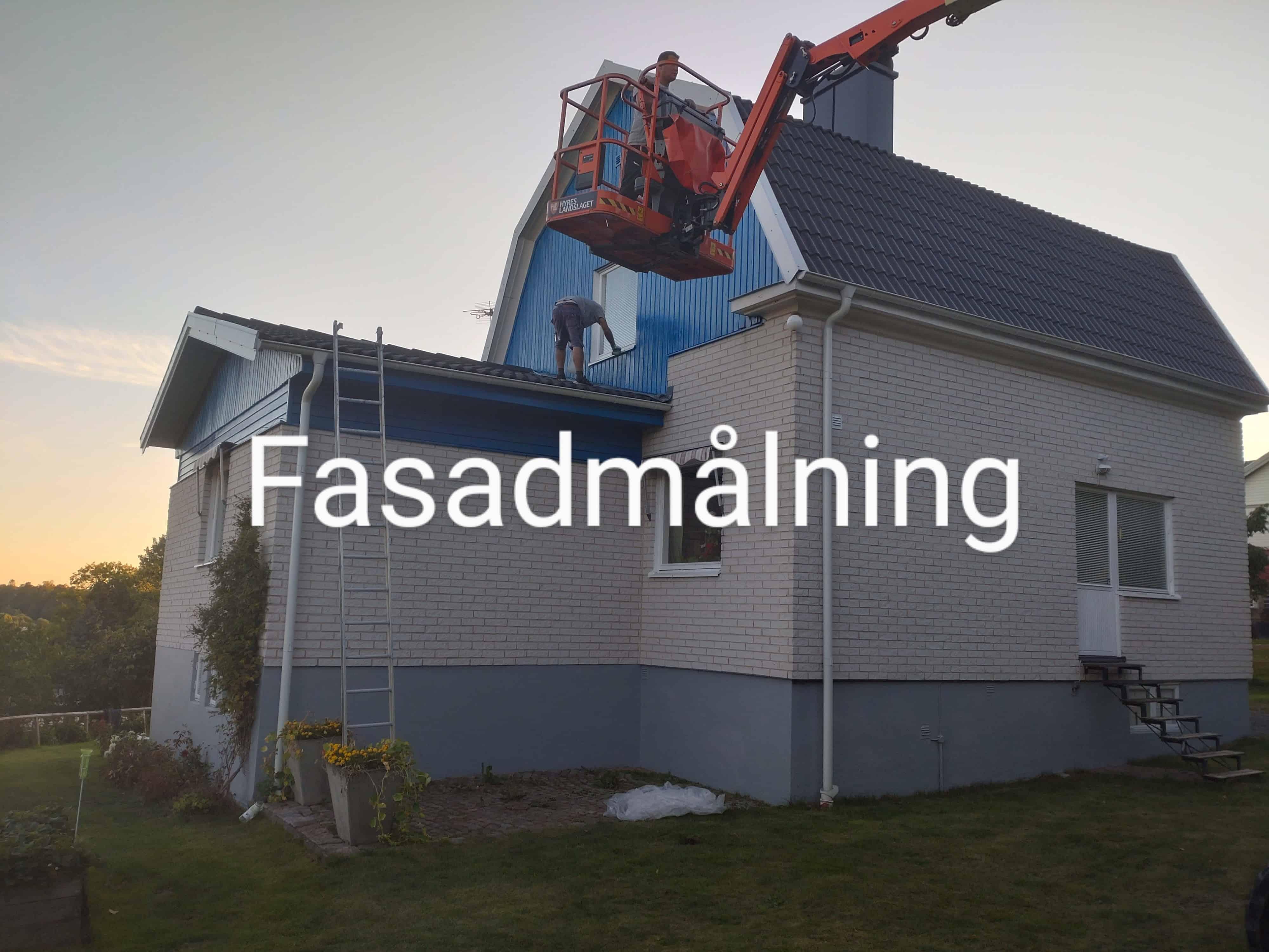 """Referensjobb """""""" utfört av Södra Tak & Fasad AB"""