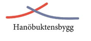 Logotyp för HanöbuktensBygg AB