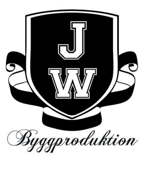 Logotyp för JW Byggproduktion