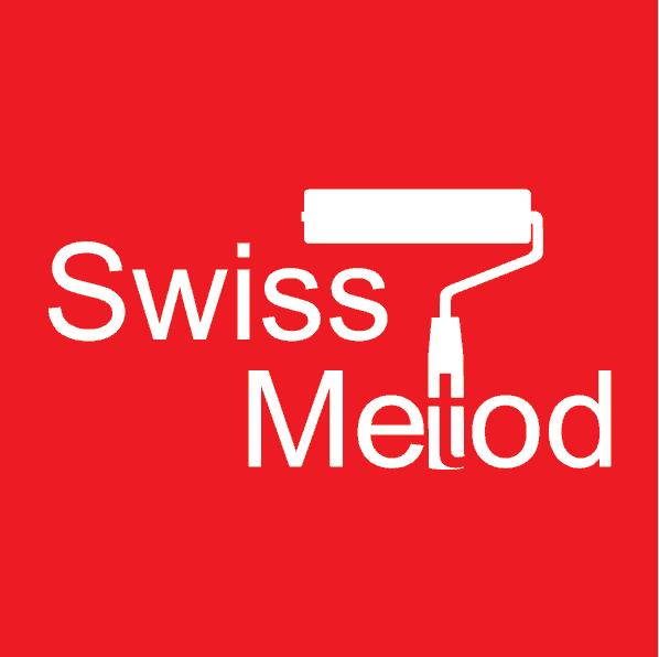 Logotyp för Swiss Metod AB