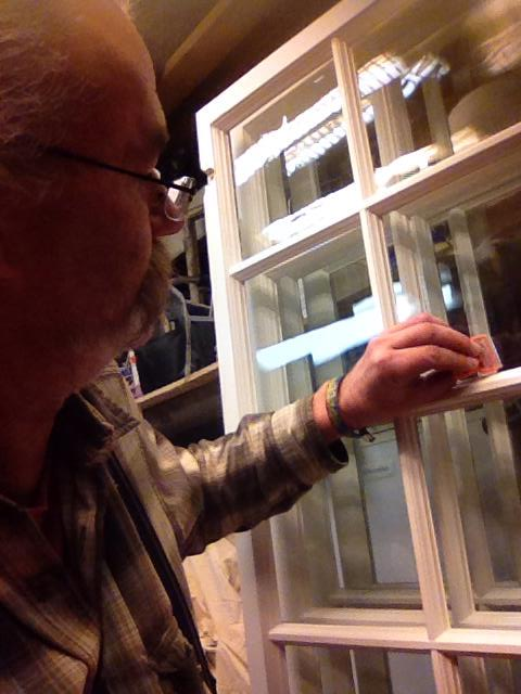 """Referensjobb """"Gör Fönsterna klara för leverans..."""" utfört av PETERSONS RÖRSERVICE"""