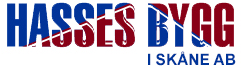 Logotyp för Hasses Bygg i Skåne AB