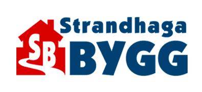 Logotyp för Strandhaga Bygg