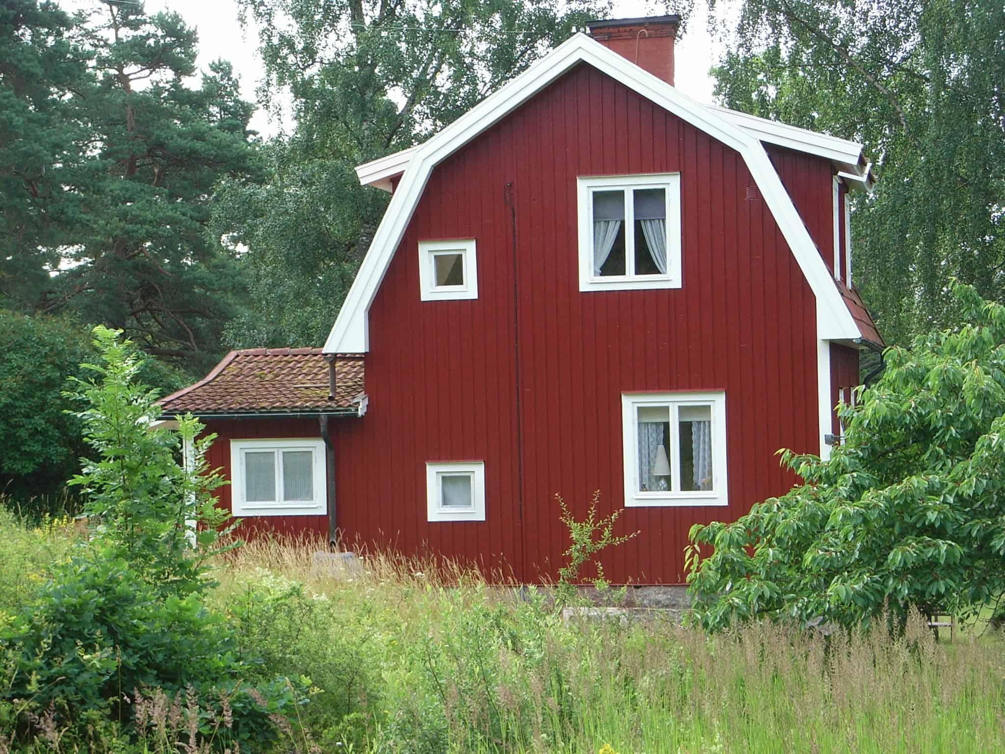 """Referensjobb """"Hus på Ljusterö"""" utfört av Hasse Jansson Målare AB"""