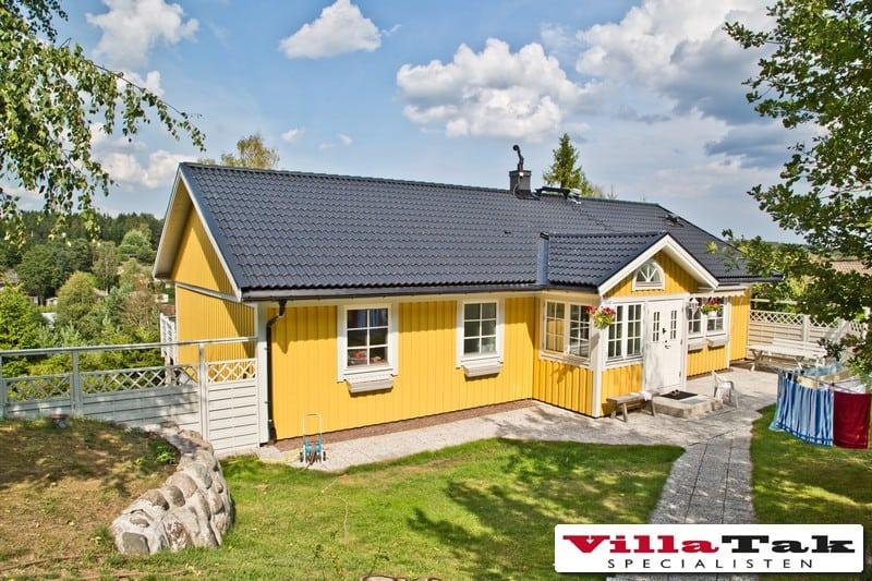"""Referensjobb """"Takomläggning Jättevägen 17 Tyresö"""" utfört av Villatak Specialisten i Stockholm"""