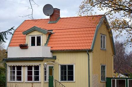 "Referensjobb ""Takrenovering"" utfört av AB Nymans Tak"
