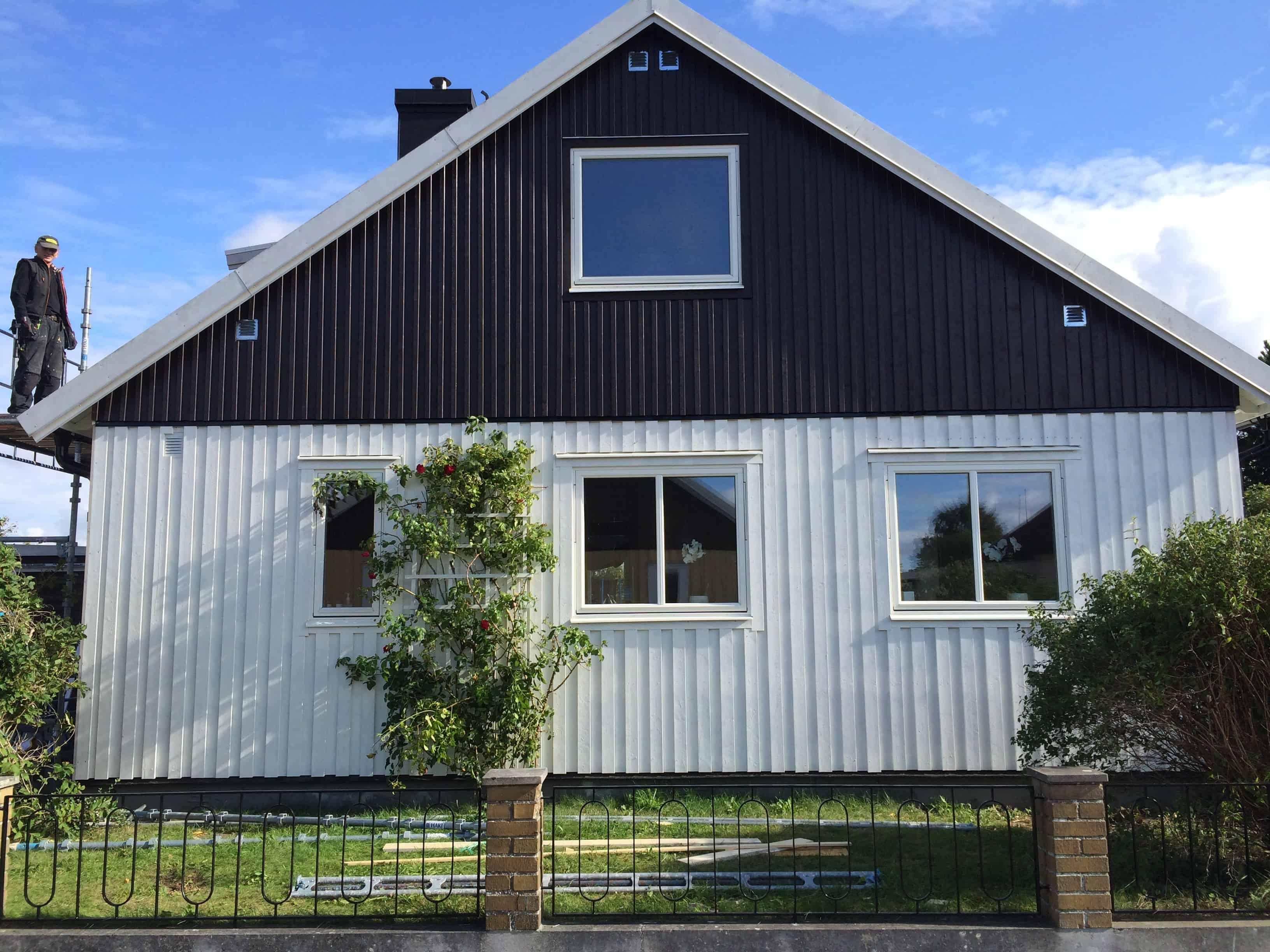 """Referensjobb """"Renovering villa Visby"""" utfört av VISBYGG AB"""