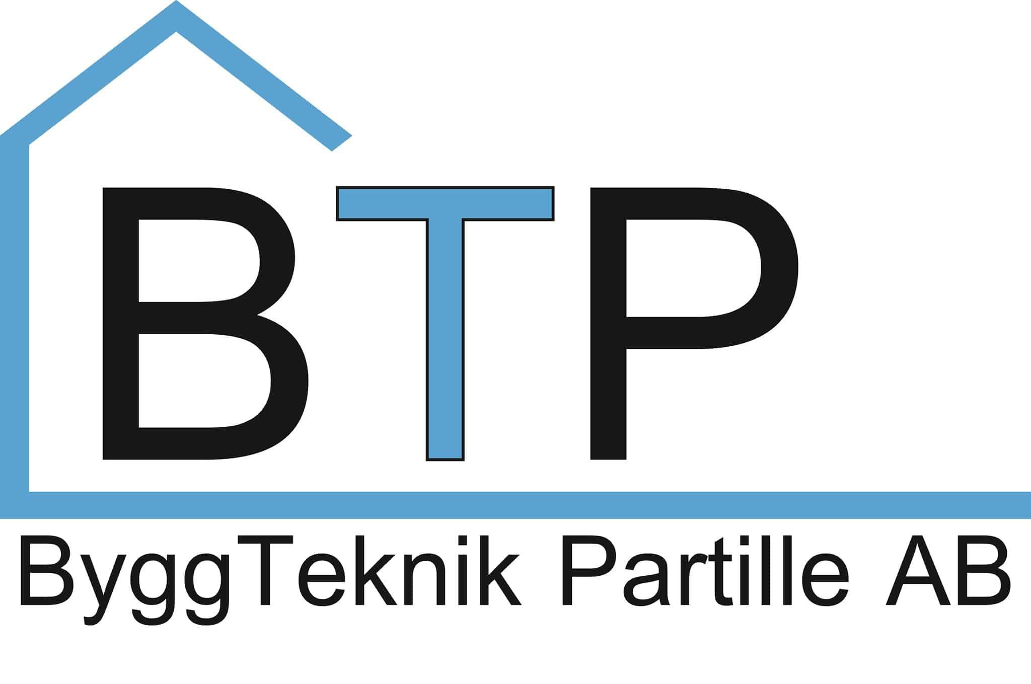 Logotyp för Byggteknik Partille AB