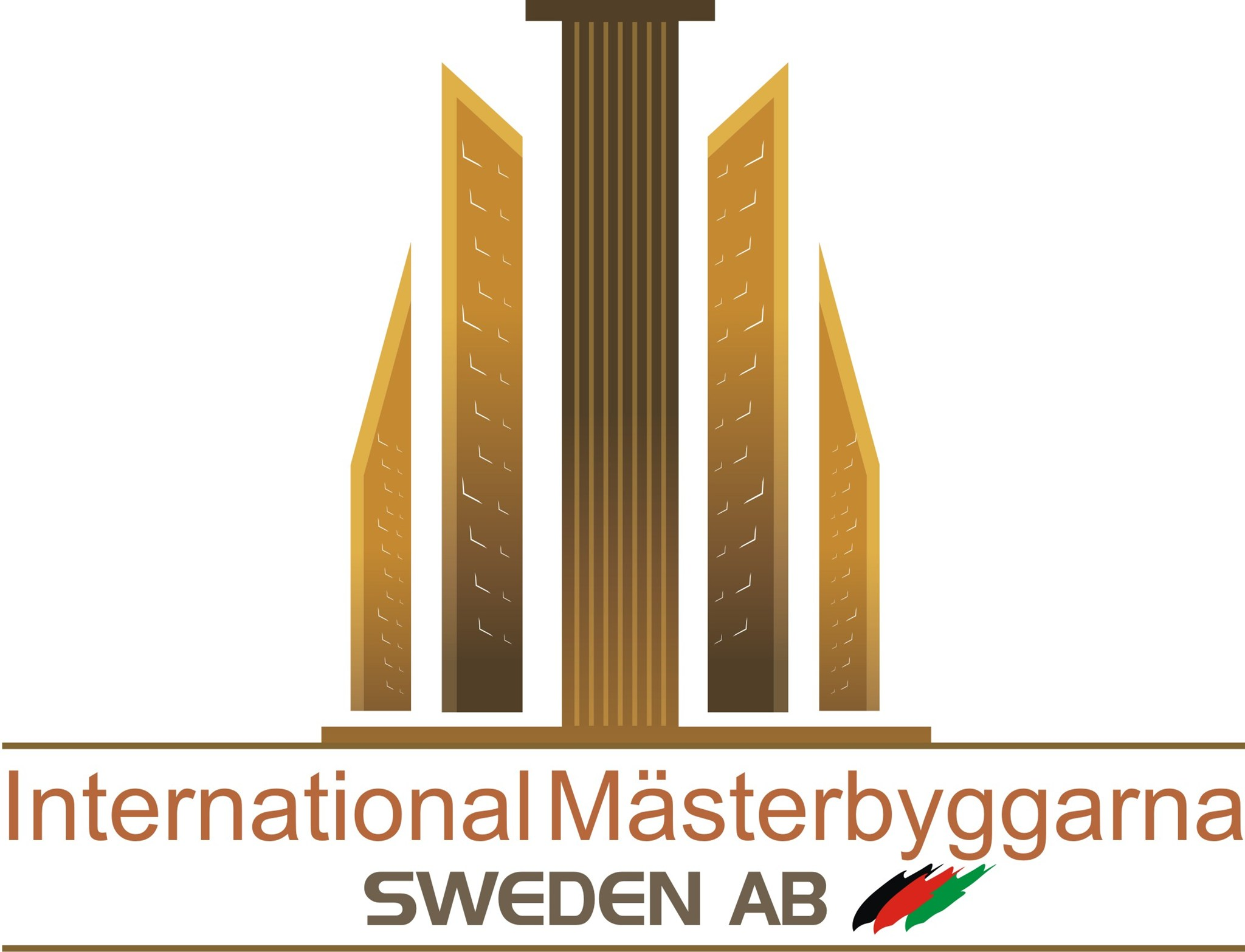 Logotyp för International Mästerbyggarna Sweden AB