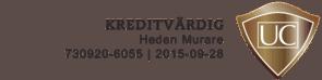 Logotyp för Heden Murare