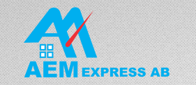 Logotyp för AEM Express AB