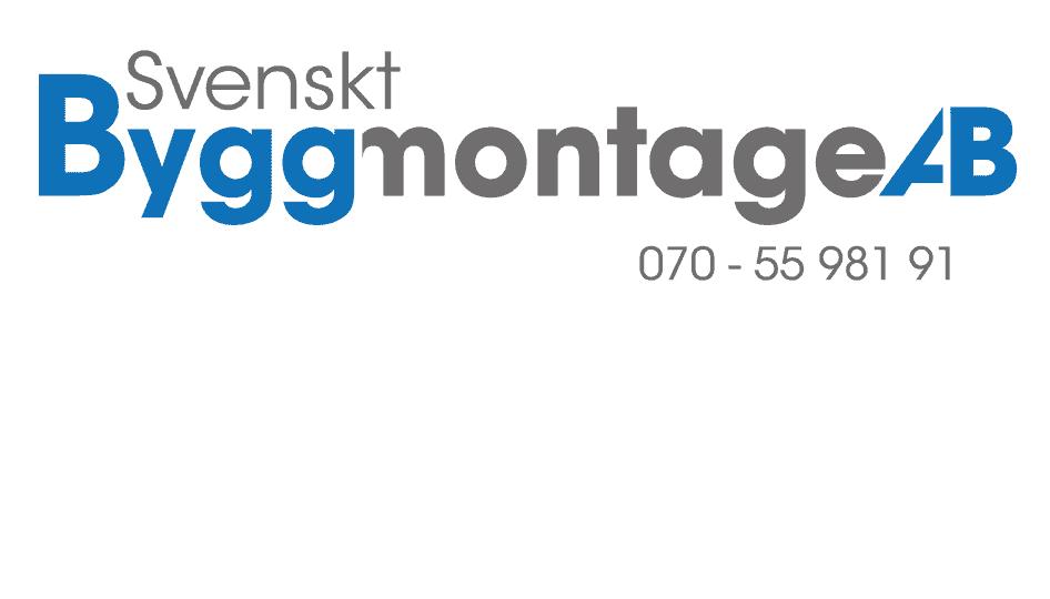 Logotyp för Svenskt ByggMontage AB