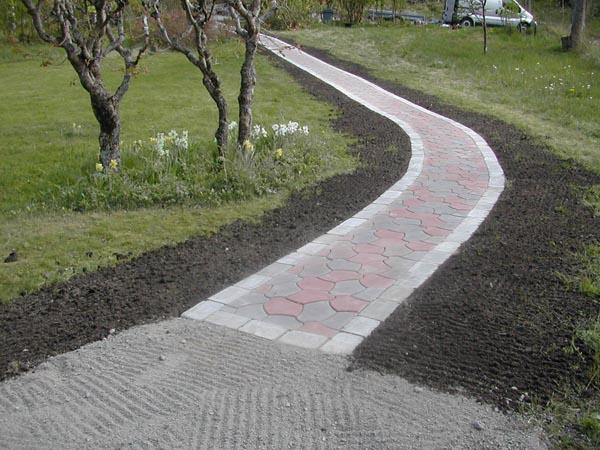 """Referensjobb """"-"""" utfört av Jövans Mark & trädgård"""