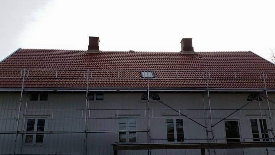 """Referensjobb """"Halva taket klart!"""" utfört av RM:s Byggservice"""