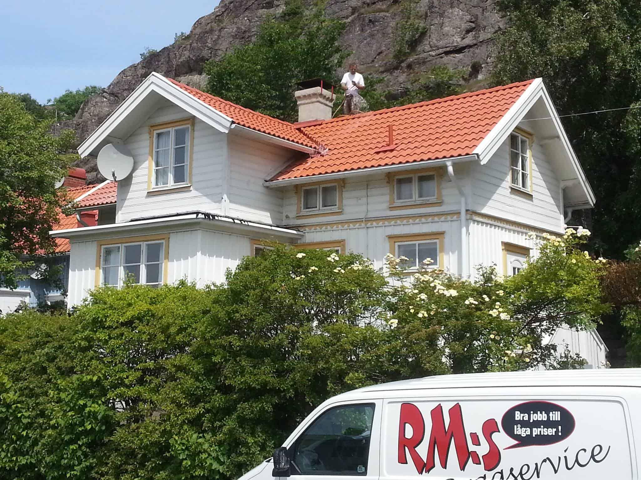 """Referensjobb """"Nytt tak"""" utfört av RM:s Byggservice"""