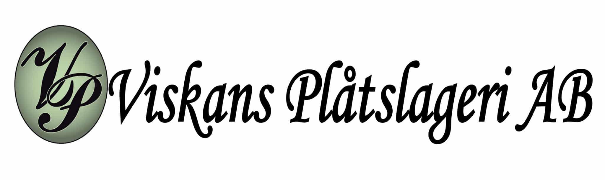 Logotyp för Viskans Plåtslageri AB