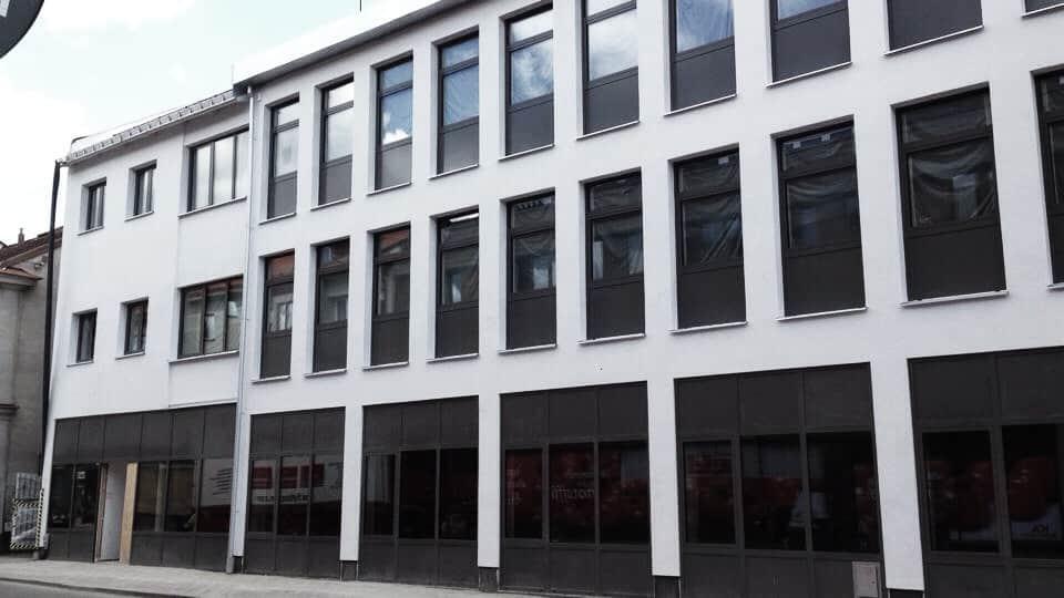 """Referensjobb """"Montering av fasadpartier """" utfört av Anders Ljungström Bygg & Montage AB"""