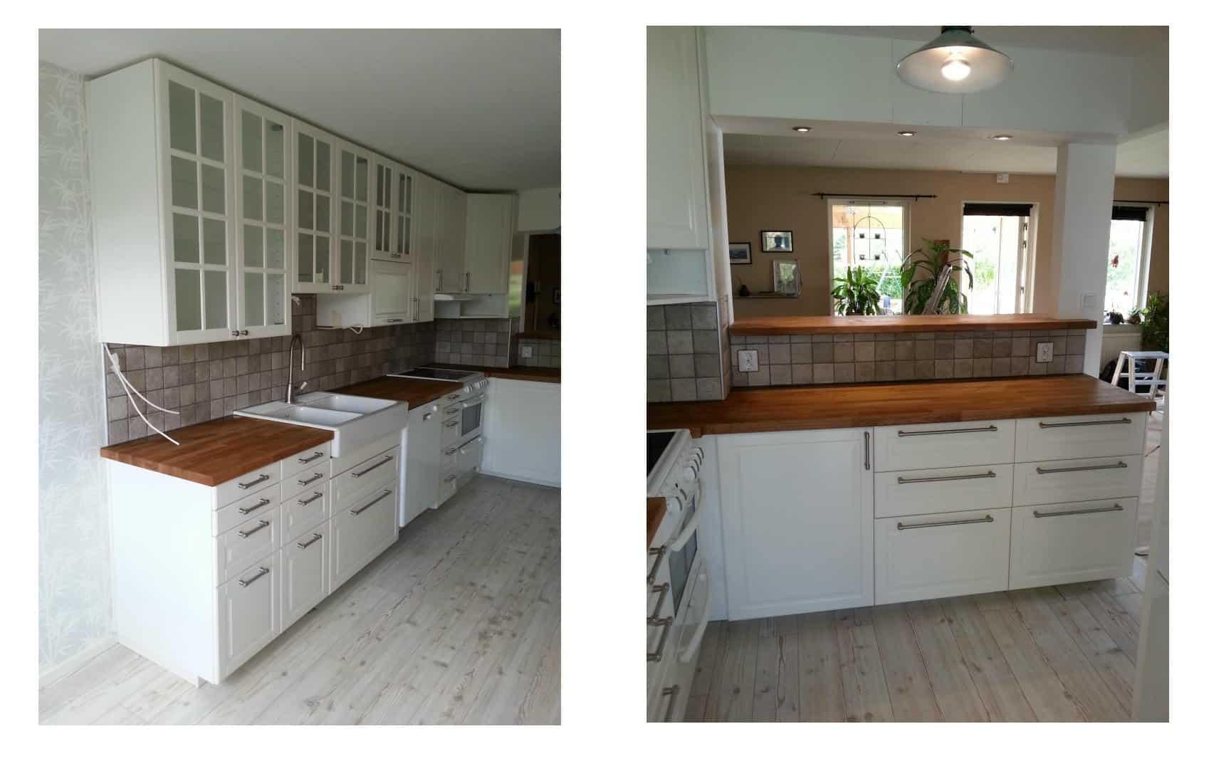"""Referensjobb """"Köksrenovering Eslöv"""" utfört av OLM Bygg & Anläggning"""