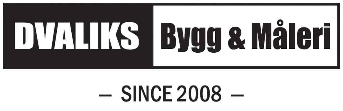 Logotyp för Dvaliks Bygg & Måleri AB
