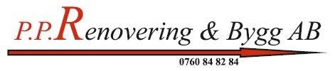 Logotyp för PP Renovering & Bygg AB