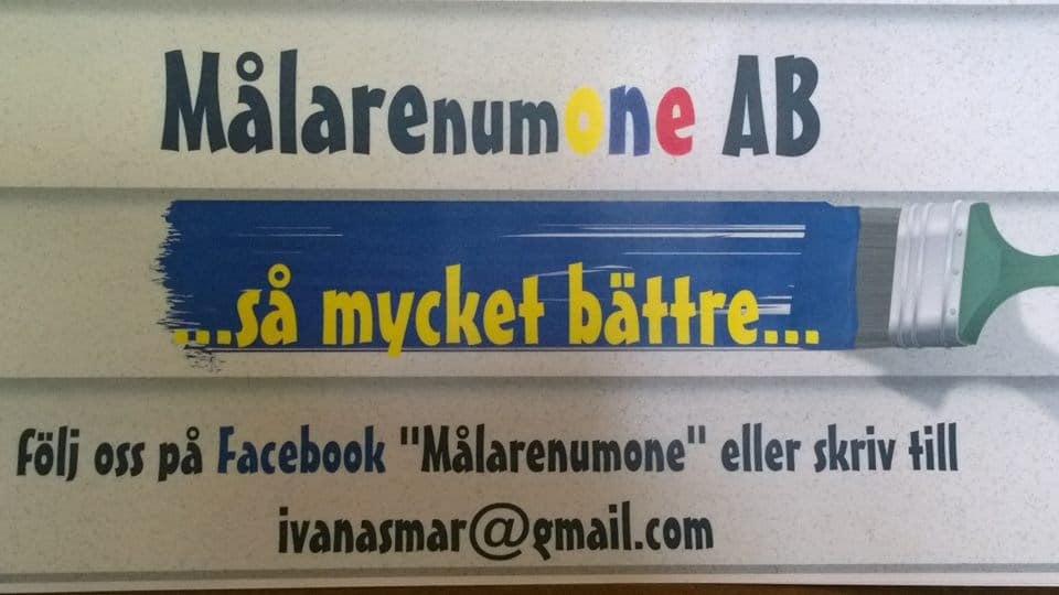 Logotyp för Målarenumone AB