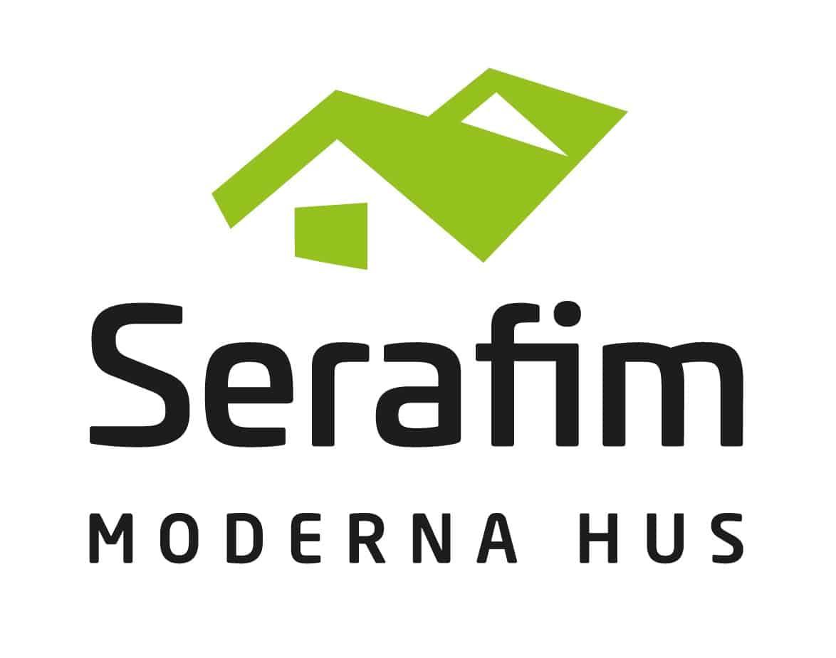 Logotyp för Serafim Moderna Hus AB