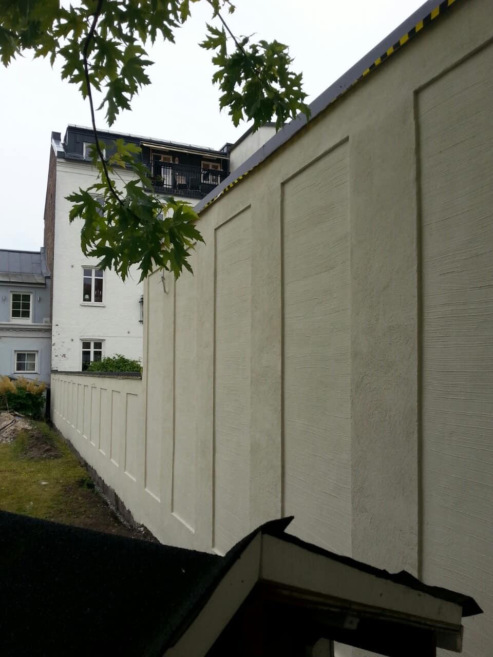 """Referensjobb """"Mur/Målning - Limhamn"""" utfört av Rainers Mur&Puts i Skåne AB"""