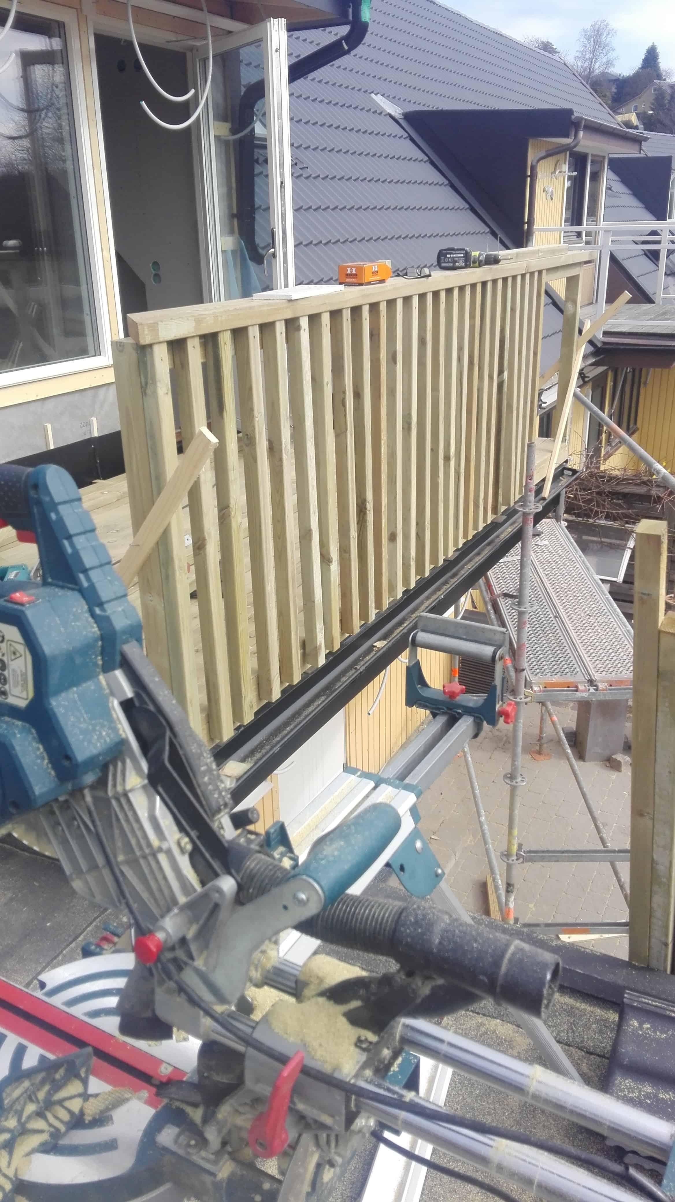 """Referensjobb """"Tillbyggnad takkupa och balkong"""" utfört av Bygghus1 i Norden AB"""